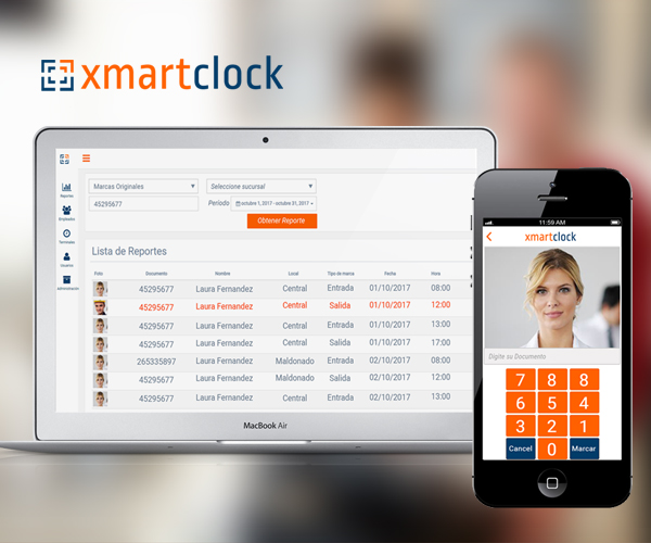 XmartClock is a cloud-based time tracking and scheduling app that allows your employees to clock in and out from the job site with the devices they've already got in their pockets. http://www.XmartClock.com